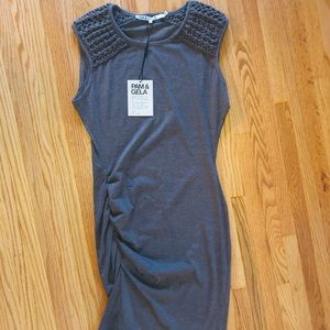 NWT Pam & Gela Sleeveless Dress